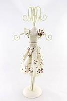 Подставка для украшений платье цветок