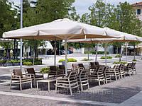 "Большой зонт для кафе,ресторана, дома 4х4м ""Вена"""