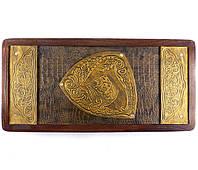 Нарды средние  «Лев золотой» 510*510 мм 31161