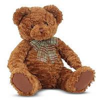 Мягкая игрушка Мишка плюшевый Каштанчик, 43 см Melissa & Doug