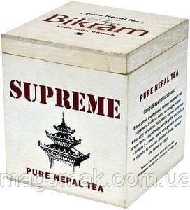 Чай Bikram, черный непальский, деревянная коробка, 100 г, фото 2