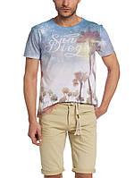 Мужская футболка LC Waikiki белого цвета с надписью San Diego, фото 1