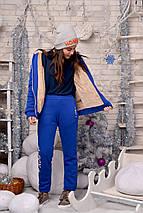 """Теплый подростковый спортивный костюм унисекс """"BOY"""" с меховой подкладкой (2 цвета), фото 3"""