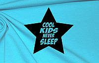 Термотрансфер ТТ-219 Cool kids never sleep