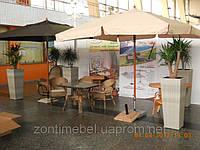 """Зонт для кафе, дома, пляжа """"Милан"""" (квадратный, 3х3м)"""
