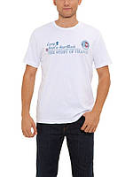 Мужская футболка LC Waikiki белого цвета с надписью The story of change
