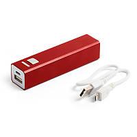 Зарядное устройство Power bank 2200 мАч Красный