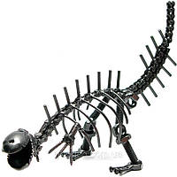 "Техно-арт ""Динозавр"", сувенир из металла"
