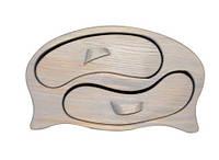 "Шкатулка из натурального дерева ""ИньЯнь"", арт. AE-405017"