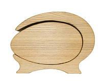 """Шкатулка из натурального дерева """"3D Яблоко"""", арт. AE-405025"""