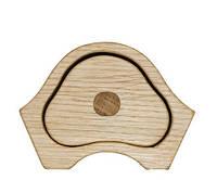 "Шкатулка из натурального дерева ""Домик"", арт. AE-405027"