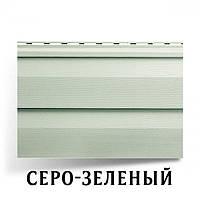 Сайдинг АЛЬТА ПРОФИЛЬ Ангара серо-зеленый