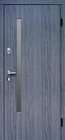 Входные двери АV-1 grey glass Дуб вулкано  157