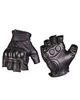 Тактические беспалые перчатки с костяшками