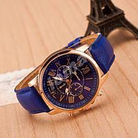 Женские часы Geneva Platinum Deep Blue