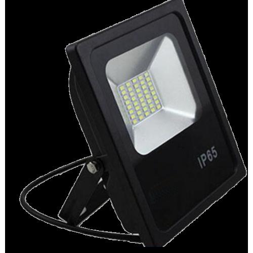 Прожектор LEDSTAR SMD 20W плоский черный