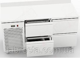 Холодильный столOrestRTS-4/6 с 4 ящиками (1500х600 мм)