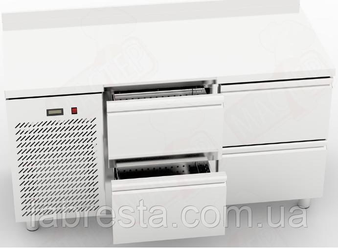 Холодильный стол Orest RTS-4/7 с 4 ящиками (1500х700 мм)