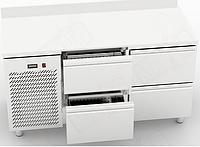 Холодильный стол Orest RTS-4/7 с 4 ящиками (1500х700 мм) , фото 1
