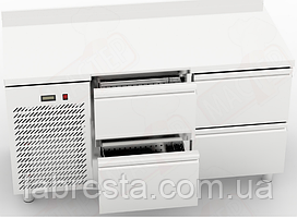 Холодильный столOrestRTS-4/7 с 4 ящиками (1500х700 мм)