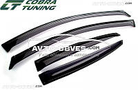 Дефлекторы боковых окон для BMW 3 Series E46 «Cobra-Tuning»