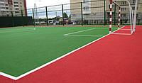 Бесшовное травмобезопасное покрытие для спортивных площадок, фото 1