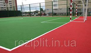 Бесшовное травмобезопасное покрытие для спортивных площадок