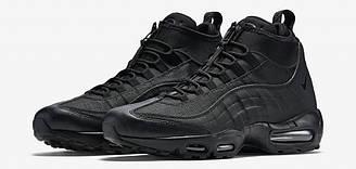 Кроссовки Nike Air Max 95 Sneakerboot Black 2