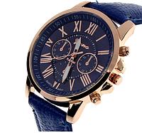 Часы Geneva синие