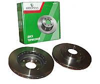 Тормозные передние вентилируемые диски ВАЗ 2110 R13 Автореал