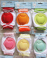 Наколенники яблочко для малышей с мягкими подушечками