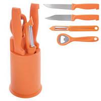 Ножи кухонные с подставкой Lucky , фото 1