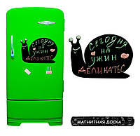 Магнитная доска на холодильник  Лидка Улитка