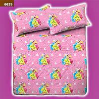 Набор постельного белья для девочки Барби (подросток)  полуторный