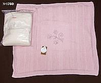 Вязаный плед для новорожденного (1760)