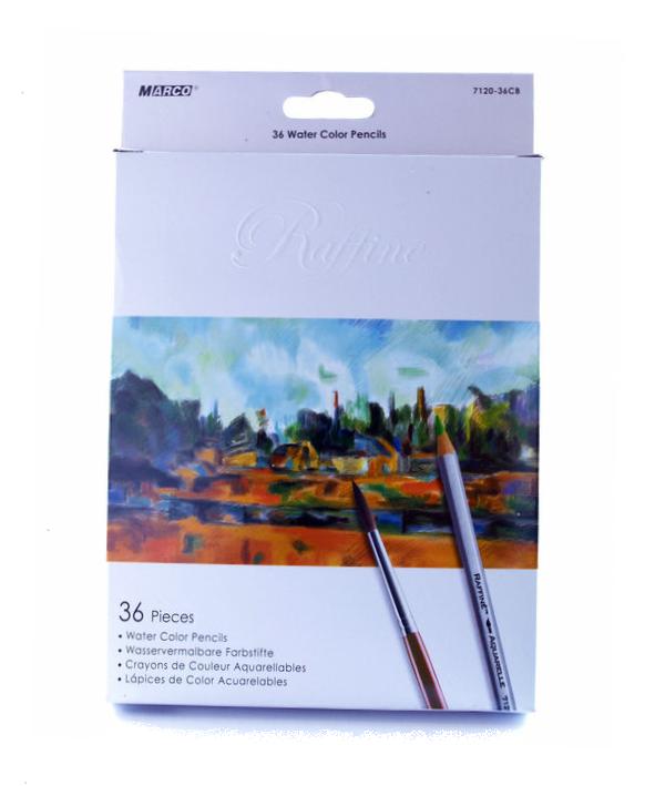 Цветные акварельные карандаши Марко 7120/36 цв.