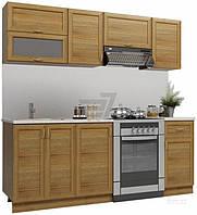 Кухонный гарнитур МДФ 2 метра из 7 модулей классический стиль