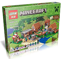 "Конструктор Lepin Майнкрафт ""Деревня"" 18008 (аналог Lego Майнкрафт, Minecraft 21128) 1650 дет."
