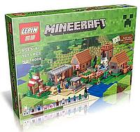 "Конструктор Lepin Майнкрафт ""Деревня"" 18008 (аналог Lego Майнкрафт, Minecraft 21128) 1650 дет., фото 1"
