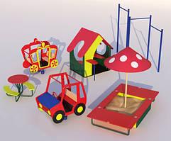 Элементы детских площадок