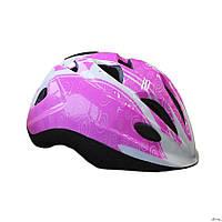 Шлем защитный детский Explore Tressor размер S розовый