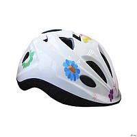 Шлем защитный детский Explore Tressor размер М белый