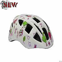 Шлем защитный детский Explore Legend размер М белый