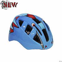 Шлем защитный детский Explore Legend размер М голубой