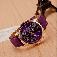 Женские часы Geneva Platinum Dark Orchidea