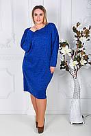 Платье женское батал ангора, фото 1