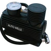 Автомобильный компрессор  AUTO WELLE AW02-10 12v 9A 20л/мин