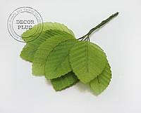 Листочки для декора 5см св -зеленый