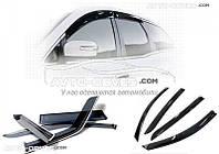"""Дефлекторы окон (ветровики) для Nissan Pathfinder 2010-2014 """"SIM"""""""