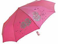 Зонт антишторм полуавтомат Цветы Хамелеон розовый